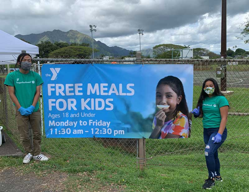 Honolulu YMCA Feeds Kids